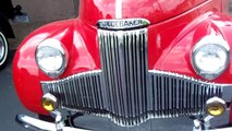 1948 Studebaker M5 Pick-up Red Fully Restored - Rare - Final Year of the M-series.