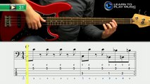 Ex031 How to Play Bass Guitar   Slap Bass Guitar Lessons for Beginners