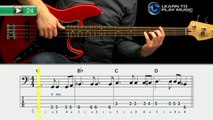 Ex024 How to Play Bass Guitar   Slap Bass Guitar Lessons for Beginners