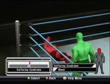 Smackdown vs. Raw 2009 - Create A Finisher Creations