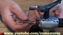 Мини ручная дрель из безынерционной катушки своими руками / Mini hand-drill with fixed-spool reel