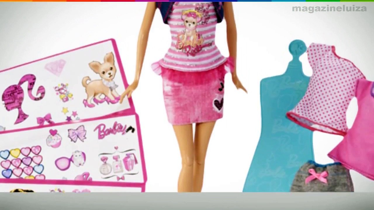 Barbie Estampas Fashion Mattel Video Dailymotion
