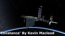 Kerbal Space Program - De-Orbiting Epic Space Station
