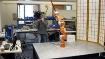 JediBot - Robot-Human Sword Fighting