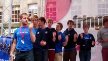 Out Of The Blue A Cappella Festival Fringe Royal Mile Edinburgh Scotland August 5th