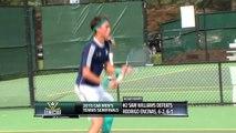 2015 #CAAChamps Men's Tennis Semifinals -- #4 College of Charleston 4, #1 UNCW 3