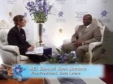 Israeli Diamond Industry Portal :Samuel Sam-Sumana interview