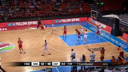 Eurobasket femenino: Serbia 81-90 España