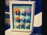 Nylon butterflies- Nylon flowers tutorials (How to make stocking crafts)