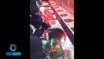 ظهور سيده زينب عليه سلام مع السباية في مرقد الامام الحسين في زيارة الاربعين1436_2015