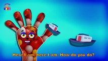 My Finger Family Ship Finger Family Nursery kids rhymes Children Songs Kindergarten