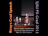Riray's Grad Speech - SJSU Pil-Grad 2011