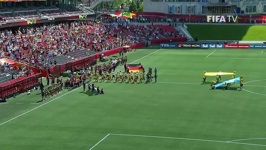 Germany 4-1Sweden (Women's World Cup 2015) EXTENDED highlights 20.06.2015
