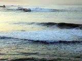 2 surfeur à Sainte Barbe (st jean de luz) vagues wave