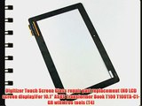 Digitizer Touch Screen Glass repair part replacement (NO LCD screen display)For 10.1 ASUS Transformer