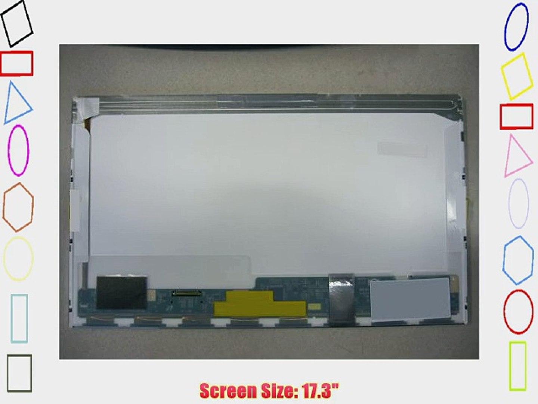 "LED DIODE AU OPTRONICS B173RW01 V.4 LAPTOP LCD SCREEN 17.3/"" WXGA+"