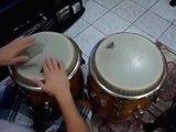 Lorenzo Peña ( tocando pambiche y merengue  en las  congas )