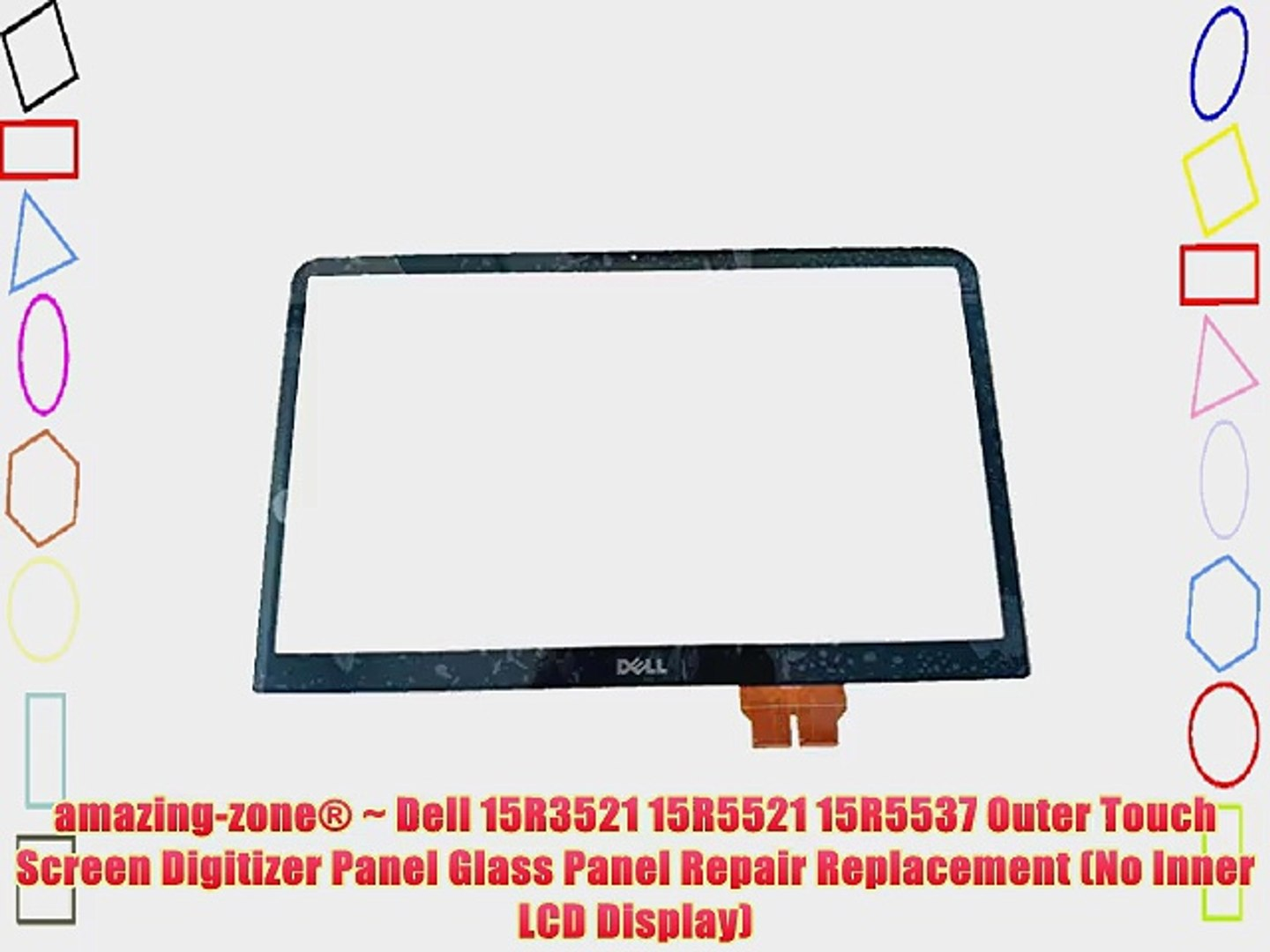 amazing-zone? ~ Dell 15R3521 15R5521 15R5537 Outer Touch Screen Digitizer Panel Glass Panel