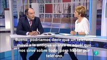 Uses of smartphones - Spanish advanced listening practice with subtitles AS / A2