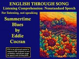 Practice English Listening | English Speaking | ESL Lessons | Learn Through Song Video Lesson 96