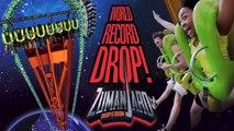Zumanjaro Drop of Doom - POV B-roll Footage - Six Flags Great Adventure