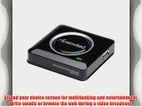 Actiontec SBWD100A01 ScreenBeam Pro Wireless Display Receiver for WiDi Laptops/ Miracast Devices
