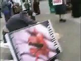 Sickening Pro-Abortion Attack on Peaceful Pro-Life Protester
