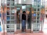 Otis Scenic Elevator at Edmonton City Centre in Downtown Edmonton, Alberta