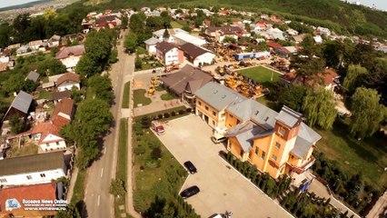 Comuna Şcheia, Suceava (filmare aeriană)