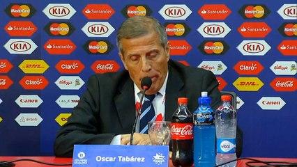 """El Maestro Tabarez: """"Poco convinto della prestazione"""""""