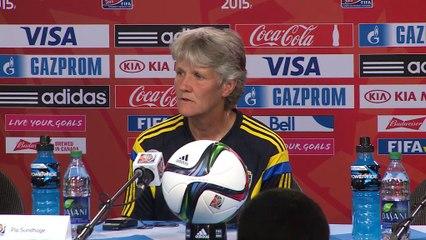 """Mundial Femenino: Sudhage: """"No fuimos las mejores"""""""