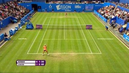 Birmingham - Kerber y Pliskova a la final