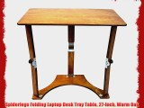 Swell Spiderlegs Folding Couch Desk Tray Table 25 Inch Natural Caraccident5 Cool Chair Designs And Ideas Caraccident5Info