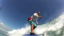SUP surfing Fiji - Cloudbreak and Namotu Lefts
