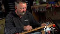 Setting Up Your Stratocaster Guitar: Nut Action height Adjustment  (Step 3 of 4)