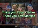 "Islamic resistance ""Hamas"" : SALUTES Hugo Rafael Chávez Frías  & Juan Evo Morales Ayma"