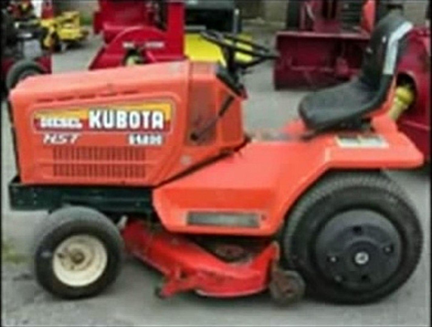Kubota G3200 G4200 G4200H G5200H G6200H Lawn Garden Tractor Operator on