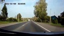Авария ДТП Лобовое столкновение с мотоциклистом