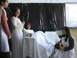 Ritual de nacimiento en la Antigüedad. Obra de teatro para talleres de CUC
