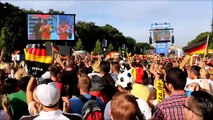 WM 2014 - Fanmeile Berlin Brandenburger Tor - Deutschland vs. Portugal