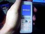 Skype Netgear Wifi Phone. Testing it.