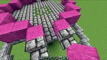 Minecraft Tutorial: How to build a large fountain - video