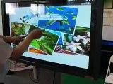 Super Multi Touch Interactive Screen