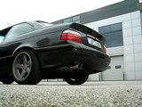 BMW 325i e36 Exhaust sound (back to) Eisenmann (7200 RPM)