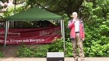 """Showtanz der Funken der Großen Karnevalsgesellschaft Goslar am 21.06.2015 bei der """"Langen Bank"""" in Goslar"""