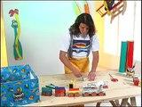 Costruiamo un trenino riciclando! -  i giochi di Coccole Sonore: tutorial per bambini