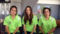 Les Jeunes Reporters de THIANT interview de Jeunes Officielles aux Championnats de France d'Athlétisme