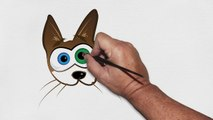 Places Cats Fit - Cute Cat Animation - Cute Cat Cartoon