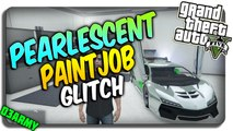 "GTA 5 Online: How to get Pearlescent paint on CHROME! ""2 PAINT JOBS IN 1"" (GTA 5 RARE Paintjob)"