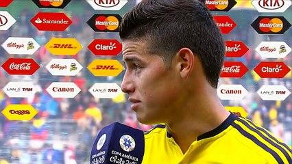 James Rodriguez in lacrime dopo lo 0-0 con il Perù